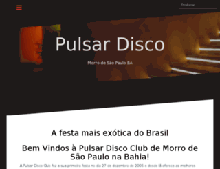 pulsardisco.com.br screenshot