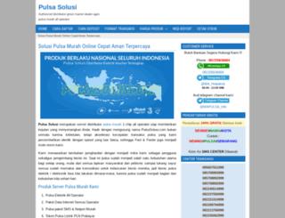 pulsasolusi.com screenshot