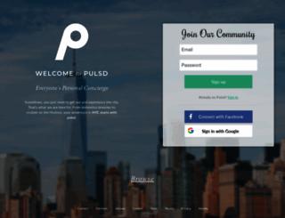 pulsd.com screenshot