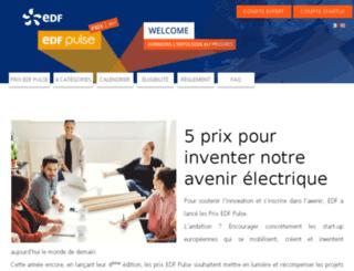pulse-awards.edf.com screenshot