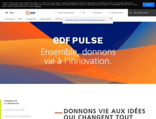 pulse.edf.com screenshot