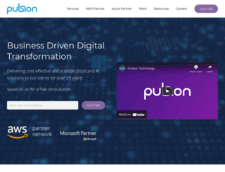 pulsion.co.uk screenshot