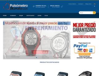 pulsometrobarato.com screenshot