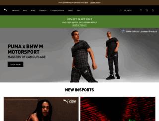 puma.com screenshot