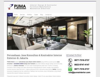pumainterior.com screenshot
