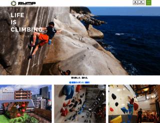 pump-climbing.com screenshot