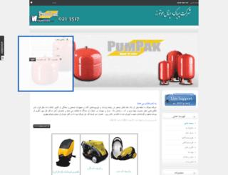 pumpak.com screenshot