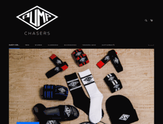 pumpchasersclothing.com screenshot