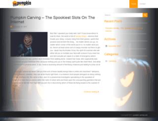 pumpkin-carving.com screenshot