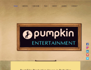 pumpkinentertainment.in screenshot