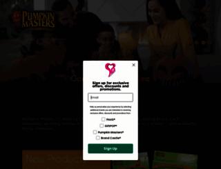 pumpkinmasters.com screenshot