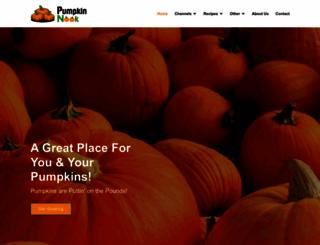pumpkinnook.com screenshot