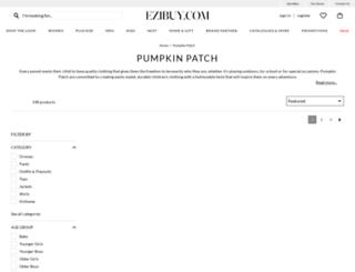pumpkinpatch.co.uk screenshot