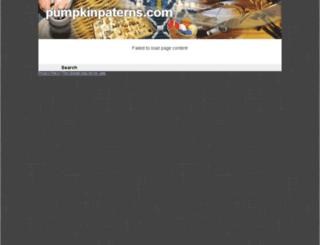 pumpkinpaterns.com screenshot