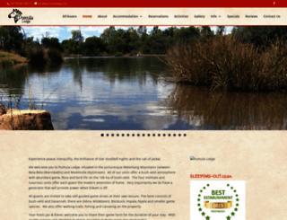 pumulalodge.net screenshot