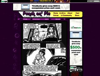 punchanpie.keenspot.com screenshot