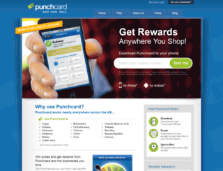 punchcard.com screenshot