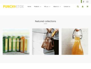 punchdetox.com screenshot