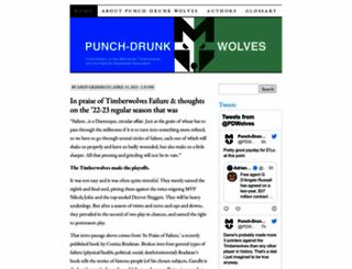 punchdrunkwolves.com screenshot