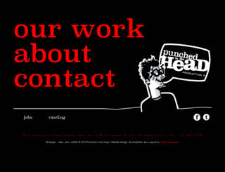 punchedinthehead.com screenshot