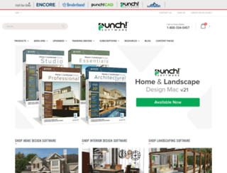 punchsoftware.com screenshot