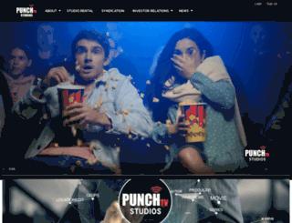 punchtvstudios.com screenshot