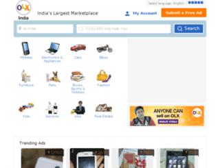 pune.olx.in screenshot
