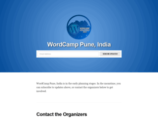 pune.wordcamp.org screenshot