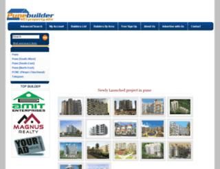 punebuilder.com screenshot