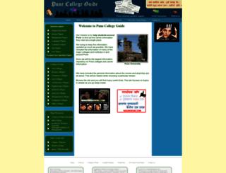 punecollegeguide.com screenshot