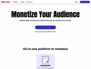 puneconnect2014.explara.com screenshot