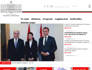 punetebrendshme.gov.al screenshot