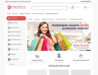 pungi-online.ro screenshot