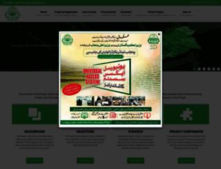 punjab-zameen.gov.pk screenshot