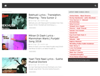punjabi.lyricspoints.com screenshot