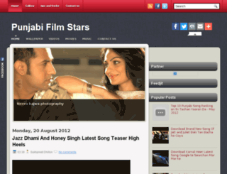 punjabifilmstars.blogspot.in screenshot
