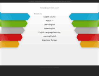 punjabijunktion.co.in screenshot