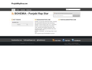 punjabirapstar.com screenshot