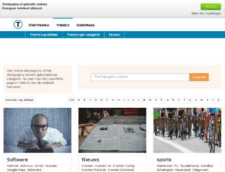punk.startpagina.nl screenshot
