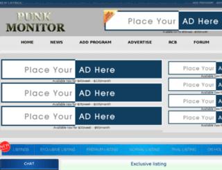 punkemails.com screenshot