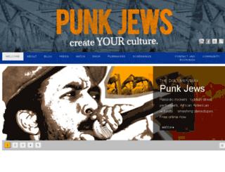 punkjews.com screenshot