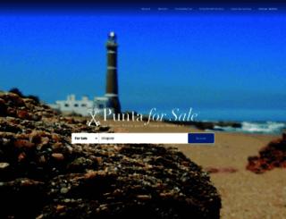 puntaforsale.com screenshot