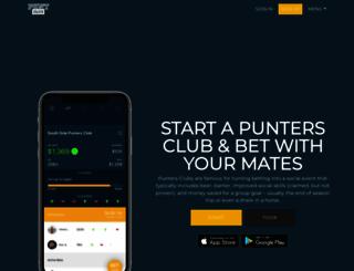 puntclub.com screenshot