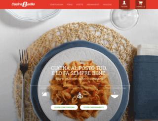 puntivendita.cucinabarilla.it screenshot