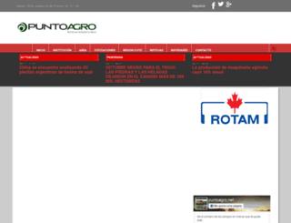 puntoagro.net screenshot