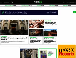 puntobiz.com.ar screenshot