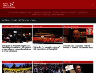 puntodevistainternacional.org screenshot