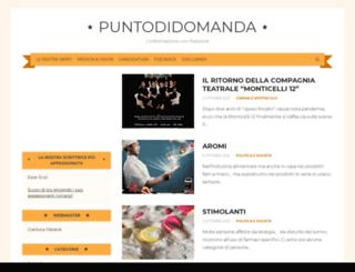 puntodidomanda.altervista.org screenshot