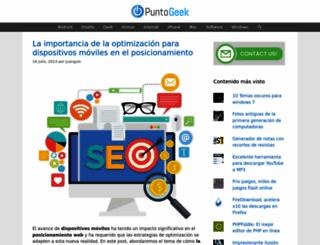 puntogeek.com screenshot