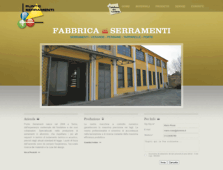 puntoserramenti.com screenshot